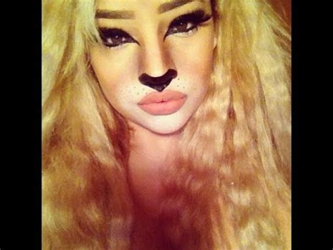 lion makeup tutorial image gallery lion faces for halloween