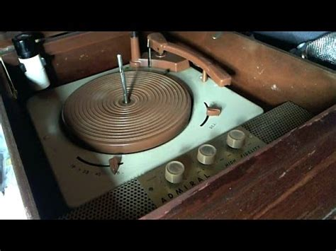 Records After 1958 1961 Sears Silvertone Console Stereo Repair Pt1 By Shango066