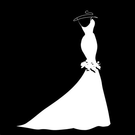 Bridal Gown Clipart