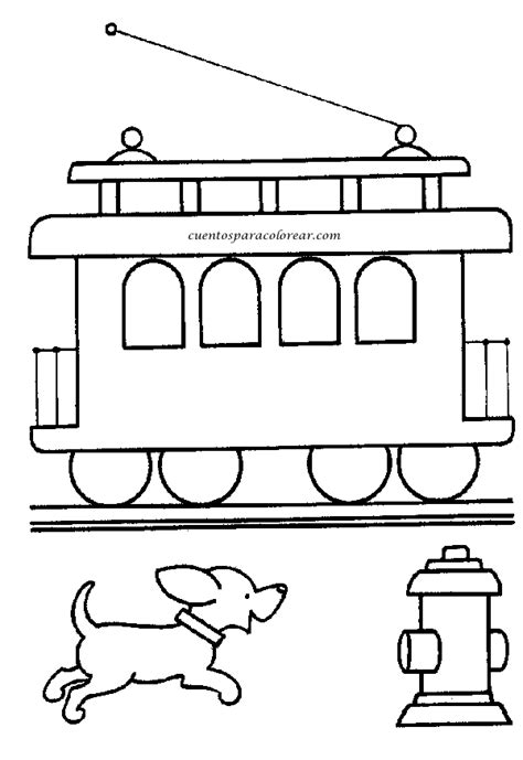 imagenes para colorear un tren dibujos para colorear trenes