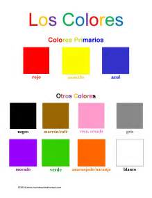 spanish color chart related keywords amp suggestions