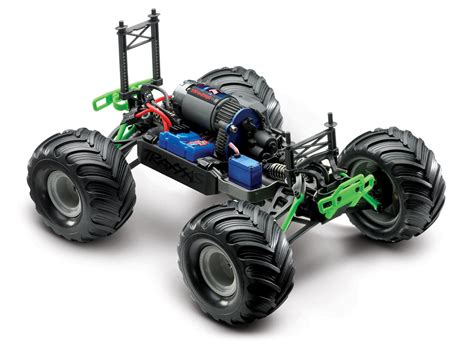 traxxas grave digger rc monster traxxas 1 16 grave digger new rc car action