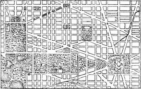 Free House Blue Prints File Eb9 Washington City Plan Central Portion Jpg