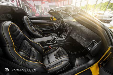 c6 corvette interior yellow line corvette c6 by carlex design comes with 1 100