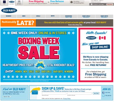old navy coupons in store canada oldnavy com