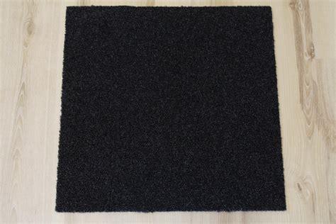 teppich b1 teppich fliesen intrigo 50x50 cm b1 balta 980 schwarz ebay