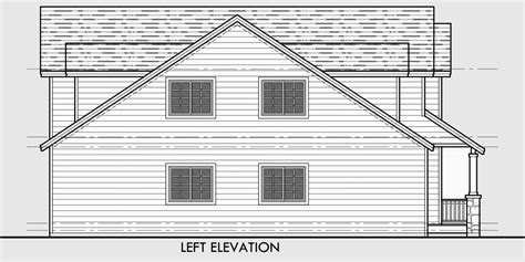 narrow lot house plans with side garage narrow lot house plans traditional tandem garage 3 bedroom bonus