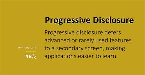 ui pattern progressive disclosure progressive disclosure