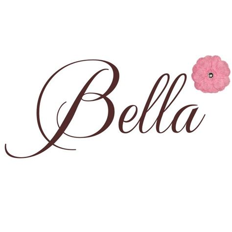 bella flower wall decal by alphabet garden designs
