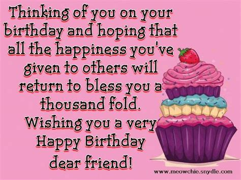 Friendship Birthday Quotes Happy Birthday Quotes And Messages Quotesgram