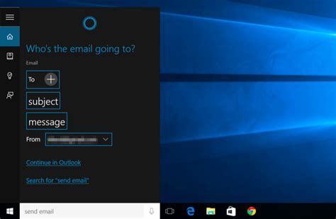 cortana can u send me a picture of what u are wearing 15 things you can do with cortana on windows 10