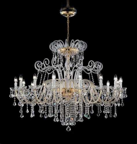 Modern Chandelier Lighting Uk Antique Style Murano Glass Swarovski Crystals Chandelier