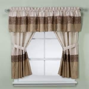 Kas romana bathroom window curtain pair in taupe contemporary curtains
