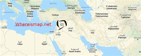 where is syria on the map where is syria where is syria located on the world map