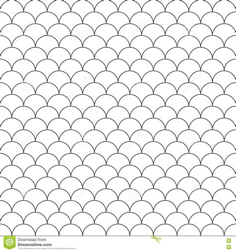 vector pattern for illustrator simple seamless pattern fish scales stock vector image