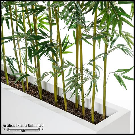 Bamboo Planters by Indoor Artificial Bamboo Poles For Sale Artificial