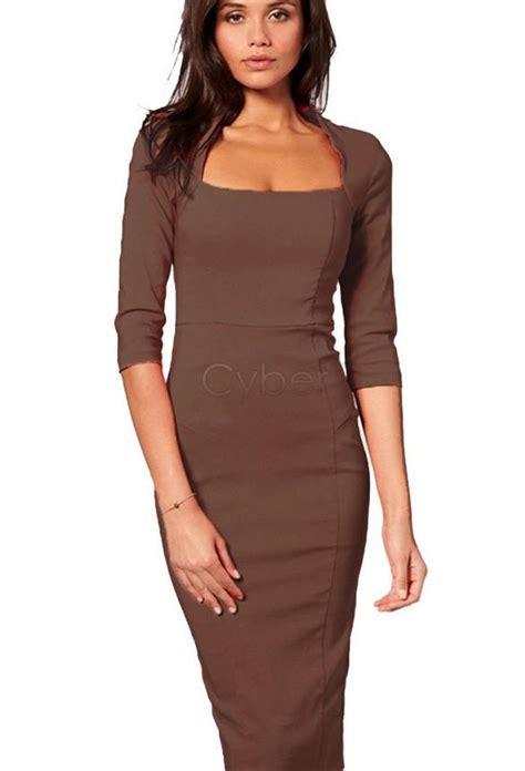 what to wear to a club women mid 30 half sleeve mid calf winter dress women work wear knee