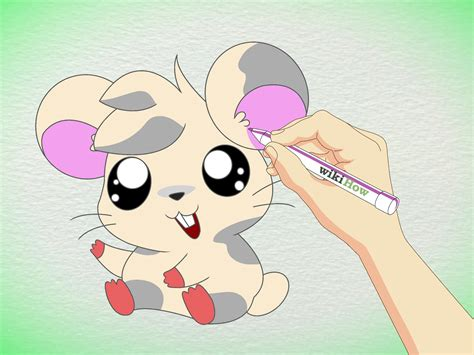 hamster animation how to draw an anime hamster 9 steps with pictures