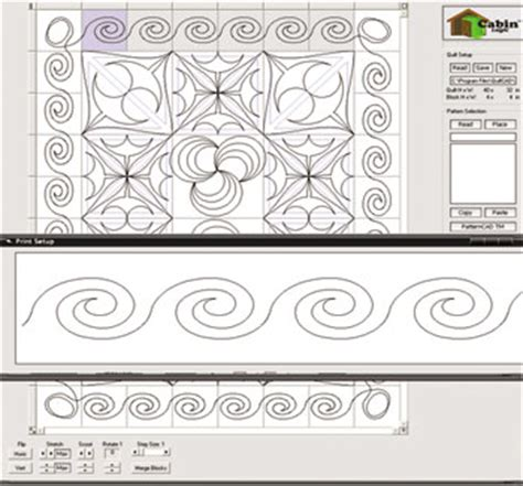 Quilt Cad Software by Quiltcad Quilt Top Stitch Design Software Ebay