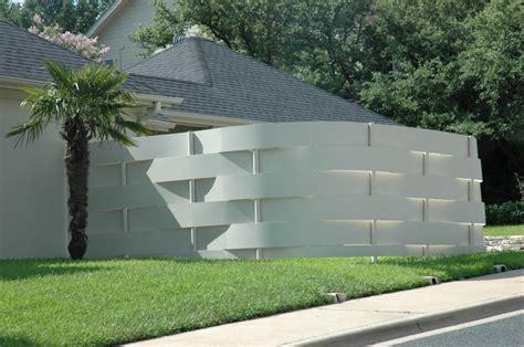 contemporary garden fencing ideas video