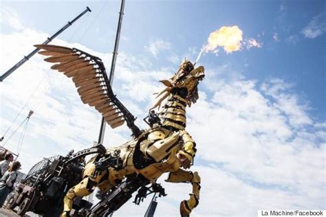 la machina la machine will bring giant mechanical creatures to ottawa