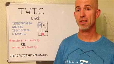 Twis Cardi how to build a profitable auto transport business twic card and the ports