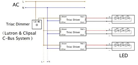 triac diagram diagrams of wiring a triac dimmable driver of