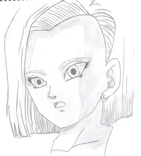 android draw how to draw android 18