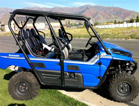 teryx4 bench seat 52 quot teryx4 rear bench black prp seats