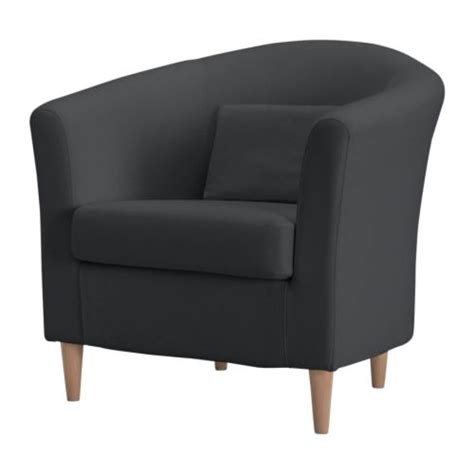 small bucket armchairs tullsta chair ransta dark gray ikea