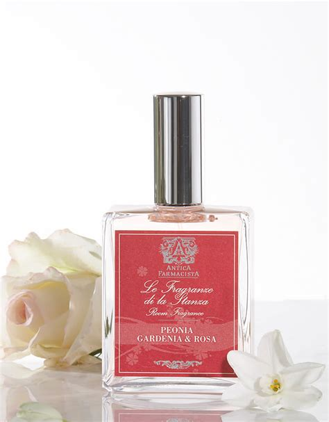 Gardenia Room Spray Peonia Gardenia Rosa Room Spray Antica Farmacista