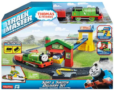fisher price friends trackmaster trains and sets