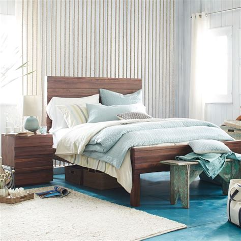 west elm stria bed stria bed stria nightstand honey west elm riggins design