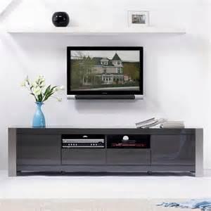 b modern composer 79 quot high gloss gray tv stand bm 100