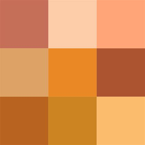 shades of orange file color icon orange v2 svg wikimedia commons