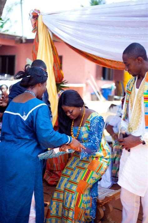 traditional ghana kente styles in engagement traditional ghanaian bride engagement kente