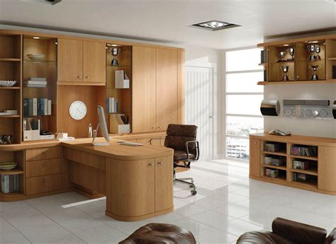 contemporary fitted home office furniture by strachan