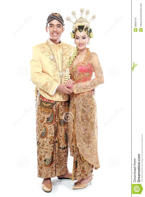 wedding java traditional java wedding stock image image 30829741