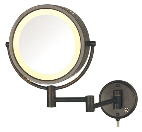 wall mounted makeup mirror with led lights wall lights design perfect ideas wall mounted lighted