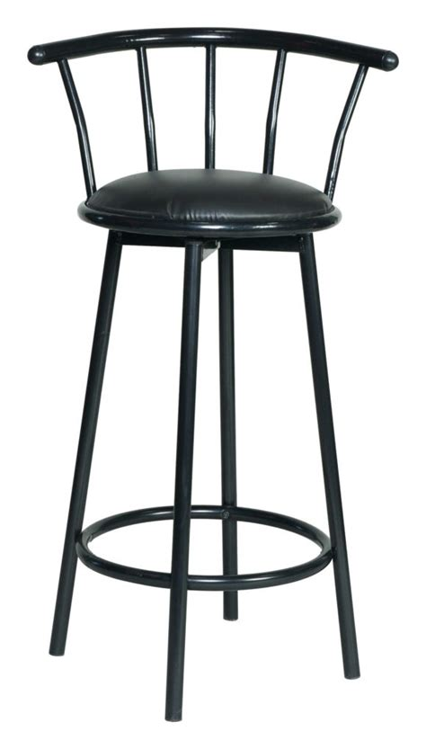 black leather curved back bar stool furniture enchanting metal bar stools with back for home