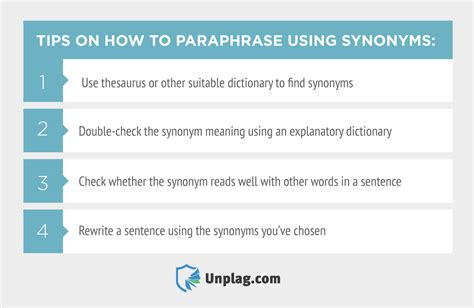 tips on how to a how to paraphrase using synonyms practical tips