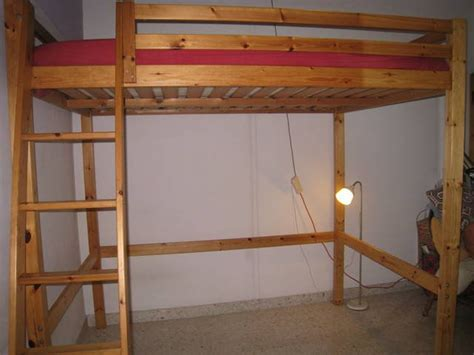 queen size loft bed ikea ikea stora queen sized solid pine loft bed for sale in