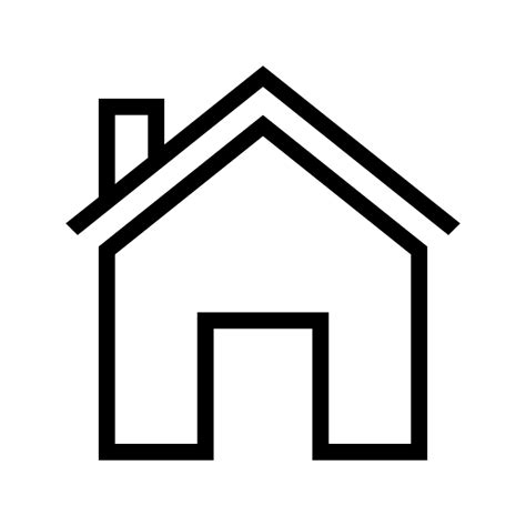 haus icon house outline png www imgkid the image kid has it