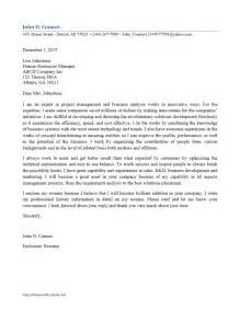 Quality Assurance Analyst Cover Letter by Business Analyst Cover Letter Freewordtemplates Net