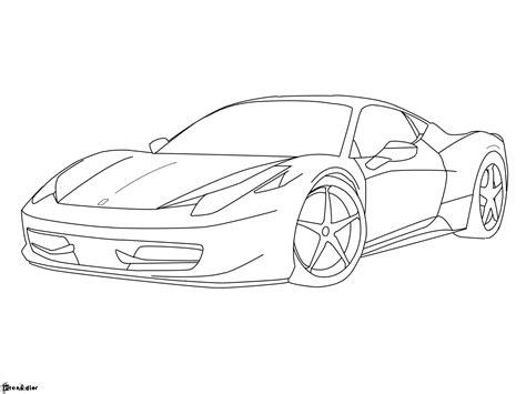 ferrari sketch how to draw a ferrari 458 italia www imgkid com the