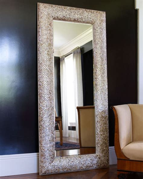 mother of pearl floor mirror inspiration ideas for my home pinter