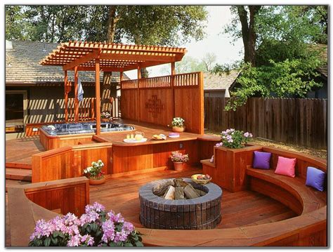 patio tub design ideas tub deck design ideas decks home decorating ideas