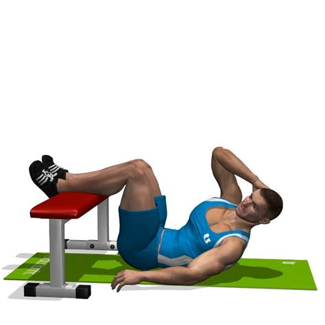 crunch on bench best 25 oblique crunches ideas on pinterest