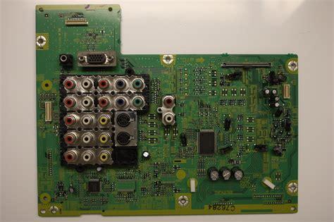 Ac Panasonic Plasma panasonic 42 quot th 42px600u tnpa3769ac plasma signal board