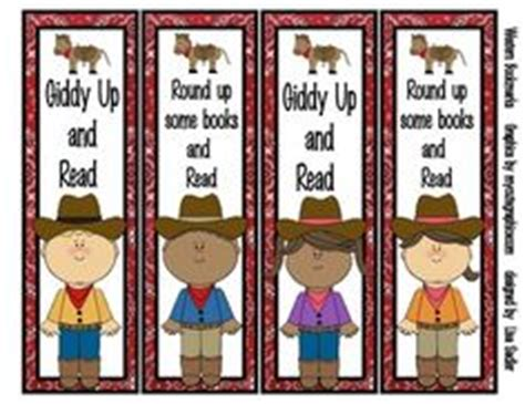 printable western bookmarks western themed classroom on pinterest western bulletin